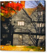 The Mysterious Witch House Of Salem Acrylic Print