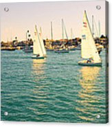 The Mystery Of Sailing Acrylic Print