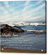 The Mystic Sea Acrylic Print