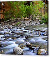 The Narrows A Place To Pause Acrylic Print