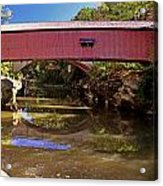 The Narrows Covered Bridge 1 Acrylic Print