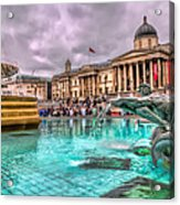 The National Gallery In Trafalgar Square Acrylic Print