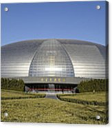 The National Grand Theatre - Exterior - Beijing China Acrylic Print