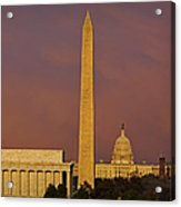 The Nations Capitol Acrylic Print