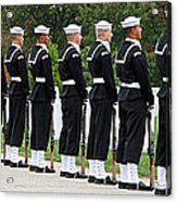 The Navy Ceremonial Guard Acrylic Print