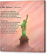 The New Colossus Acrylic Print