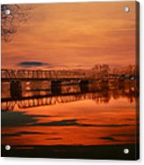 The New Hope Bridge Acrylic Print