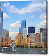 The New New York Skyline Acrylic Print