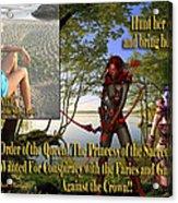 Princess Of The Sacred Lake Acrylic Print