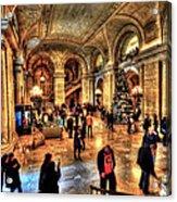 The New York Public Library Acrylic Print