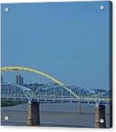 The Newport Southbank Bridge Acrylic Print