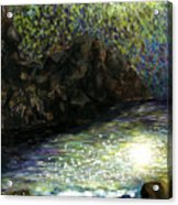 The Night Of Nereides By Yujin Chung 9th Grade Acrylic Print