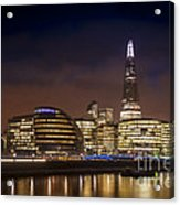 The Night Shard Acrylic Print by Donald Davis