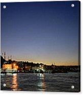 Istanbul Nights Acrylic Print