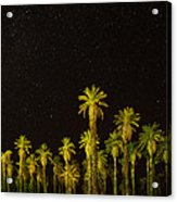 The Night Sky Over Death Valley Acrylic Print