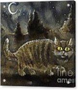 The Night Stalker Acrylic Print