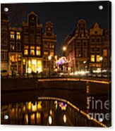 The Nine Streets Amsterdam Acrylic Print