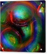 The No.7 Colored Hurricane Acrylic Print