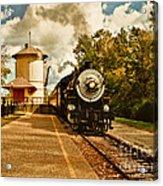 The Noon Train Acrylic Print