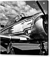 The North American T-6 Texan Acrylic Print by David Patterson