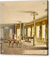 The North Drawing Room, Or Music Room Acrylic Print