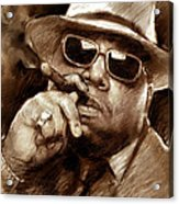 The Notorious B.i.g. Acrylic Print