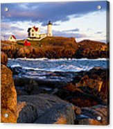 The Nubble Lighthouse Acrylic Print