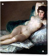 The Nude Maja Acrylic Print