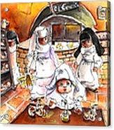 The Nuns Of Toledo 02 Acrylic Print