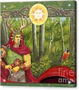 The Oak King Acrylic Print
