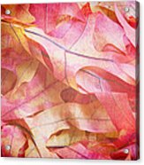 The Oak Leaf Pile Acrylic Print
