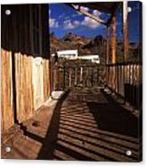 The Oatman Hotel Acrylic Print