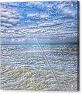 The Ocean And The Pole Acrylic Print