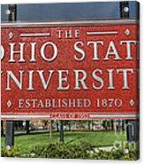 The Ohio State University Acrylic Print