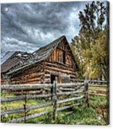 The Ol' Barn Acrylic Print
