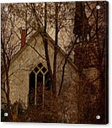 The Old Abandoned Church Acrylic Print