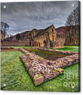 The Old Abbey Acrylic Print