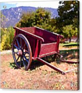 The Old Apple Cart Acrylic Print by Glenn McCarthy Art and Photography
