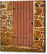 The Old Barn Door Acrylic Print