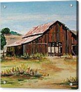 The Old Barn Acrylic Print