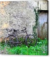 The Old Bike In The Irish Countryside Acrylic Print