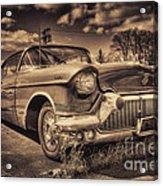 The Old Cadillac  Acrylic Print
