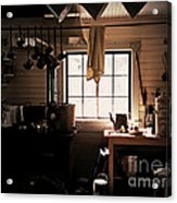 The Old Camp Kitchen Acrylic Print