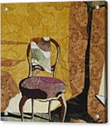 The Old Chair Acrylic Print