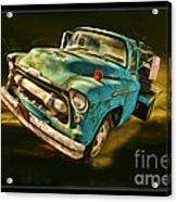 The Old Chevy Max Acrylic Print