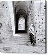 The Old City Of Jerusalem Acrylic Print