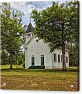 The Old Country Church Acrylic Print