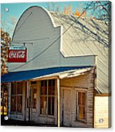 The Old Country Store Acrylic Print
