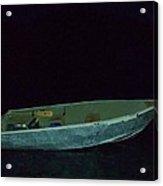 The Old Crestliner In Dark Waters Acrylic Print
