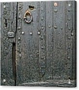The Old Door Acrylic Print by France  Art